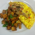 Short Rib Omelet - Brunch