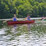 Mountaintop Lake Canoeing