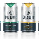 Due South Brewing Co. beers are sold on tap and in cans in 500+ locations as of December 2014.
