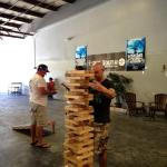 Always fun and games happening at the brewery!