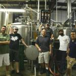 Every drop of Due South beer is made right here by these guys.