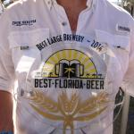 Due South Brewing won 2014 Best Large Brewery in FL - Best Florida Beer Championship