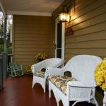 Hang out with family and friends on the front porch!