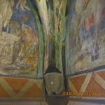 frescoes on the walls and ceilings