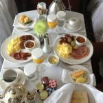 they apologized with a lovely breakfast :) impressed!
