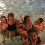 our kids enjoying the pool
