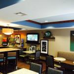 Lobby/dining area...great place to socialize any time of day.
