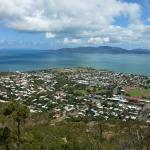 View of townsville and magnetic island!