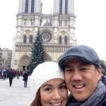 David Chao and Patricia at Notre Dame