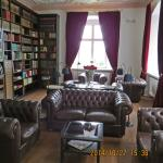 reading and TV room