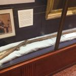 Rifle used by one of the Texians during the battle