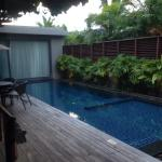 Two bedroom pool residence. This is the newly build extension of ananatara everything is new roo