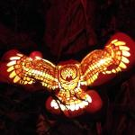 Lighted owl.