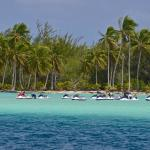 Bora Bora jet ski lagoon activities tours