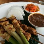 Sate lilit was yummy