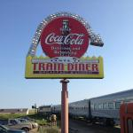 The 50's traincar Diner @ 1880 Town
