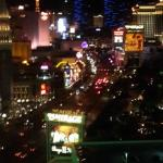 View of the strip from 15th floor