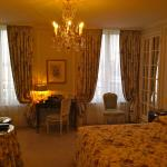 David Chao and Patricia at Le Bristol in Paris: Room #722