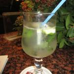 fresh mint in cocktails