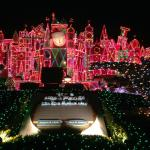 Small World in it's Christmas finery
