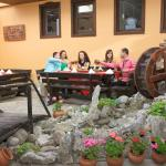 Bulgarian Theme Restaurant, outdoor part