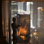 The Petronas towers from suite