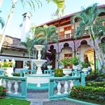 A romantic colonial style