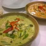 Thai green and red curries