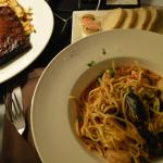 Seafood Linguine from Grill 41