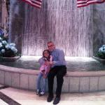 Me and my niece at Palazzo