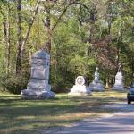 Many memorial monuments