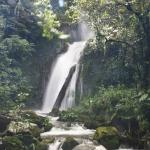 One of the beautiful waterfalls you can hike to on the El Silencio property