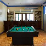 Pool Table by the Bar