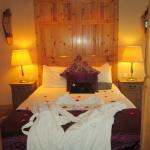 Our room - the 'honeymoon' suite