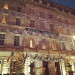 Hotel Exterior at Christmas