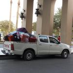 Luggage Delivery Truck