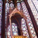 Interior glass Saint-Chapelle