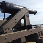 Cannon pointed toward the Gulf