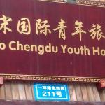 Hello Chengdu International Youth Hostel Foto