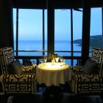 Club lounge and its views
