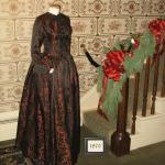 Period dresses on display