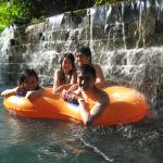 At Waterboom with friends