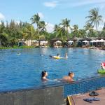 Big pool with daily activities like aqua aerobic.. complimentary
