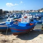 favignana fishing boats