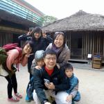 First stop at a Ethnic group village