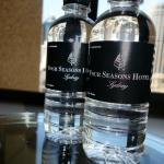 complimentary bottled water