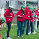 Getting to grips with hurling!