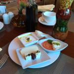 I enjoyed breakfast at this hotel ��