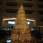 Lobby of hotel. Yes, they love to decorate. Dazzling.