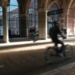 The Rijksmuseum (National Museum) - passing through
